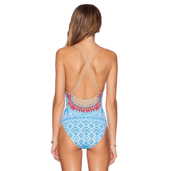 Brazilian High Waist Beachwear S - XL  - Zaida Fashions