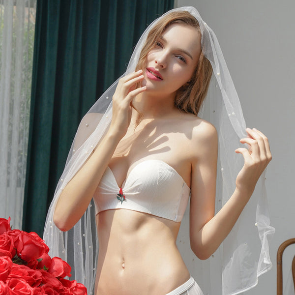 Strapless Wire Free Wedding Bra  - Zaida Fashions