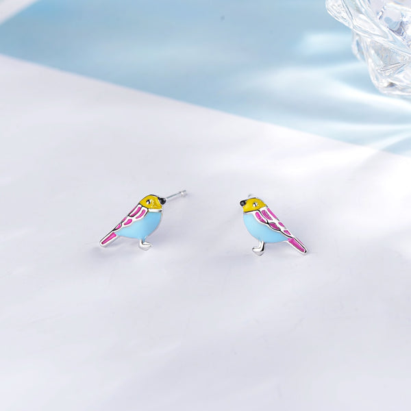 Bird Stud Earrings  - Zaida Fashions