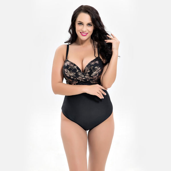 Plus Size Brazilian Swimsuit 2XL to 6XL  - Zaida Fashions