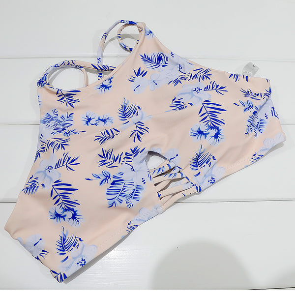 Summer Printed Bikini Tops & Bottoms S - L  - Zaida Fashions