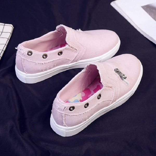 Casual Breathable Canvas Shoes 5 to 10.5