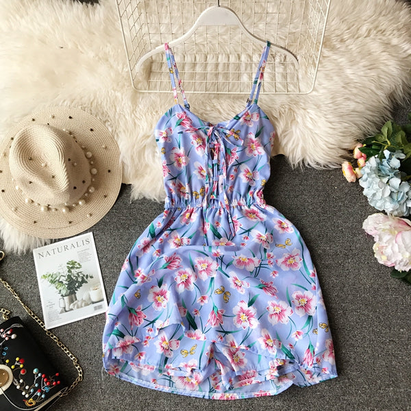 Summer Chiffon Beach Playsuits  - Zaida Fashions