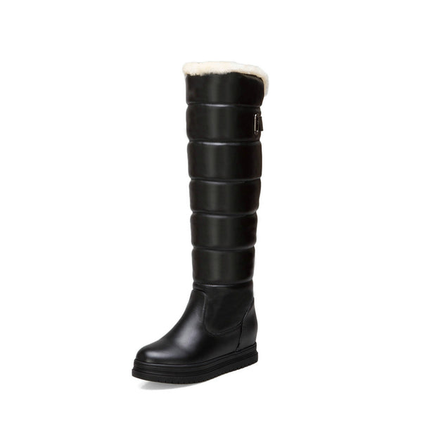 Winter Over The Knee Boots Size 3 to 12  - Zaida Fashions