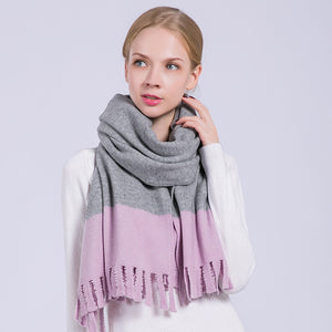Winter Wool Scarves 190x65cm  - Zaida Fashions