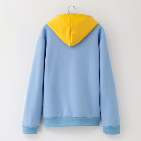 Casual Oversized Sweatshirts L  - Zaida Fashions