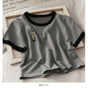 Short Sleeved T-shirt Casual Tops