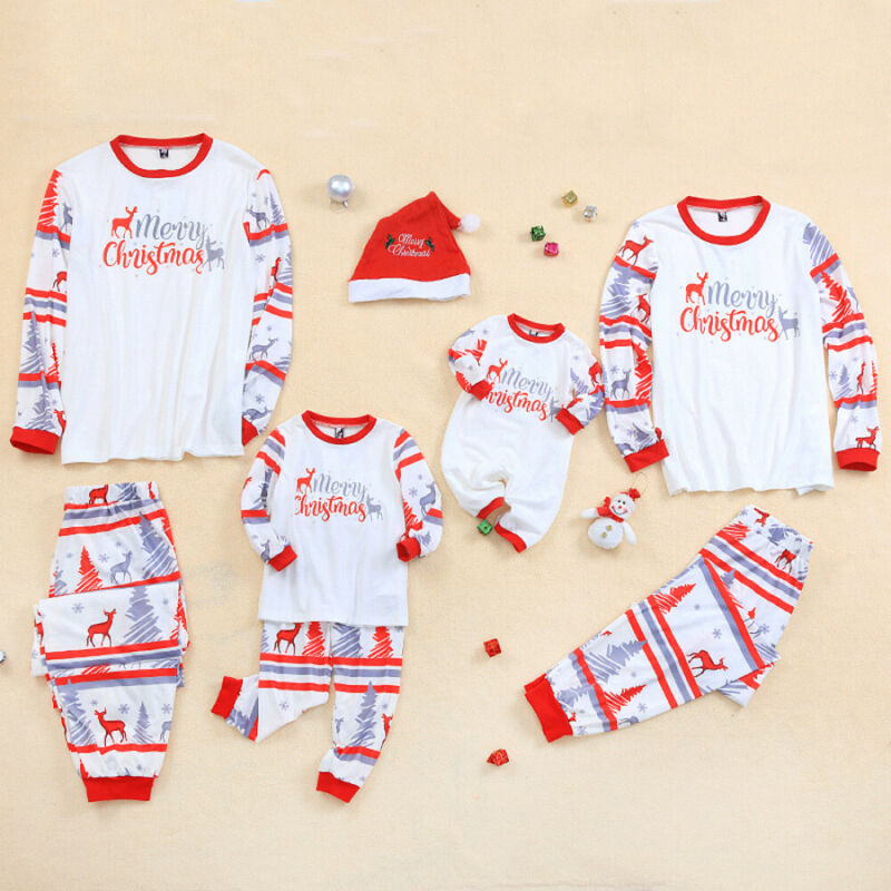 Christmas Family Matching Pajamas 2Pcs Set
