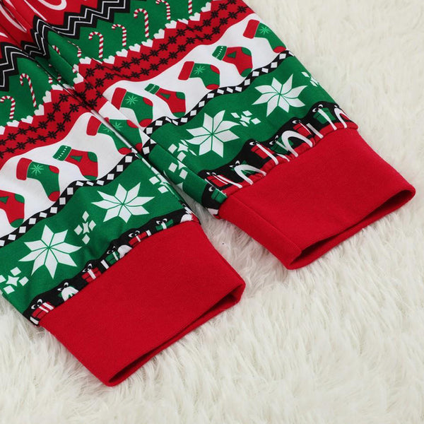 Christmas Family Pajamas Sleepwear Set