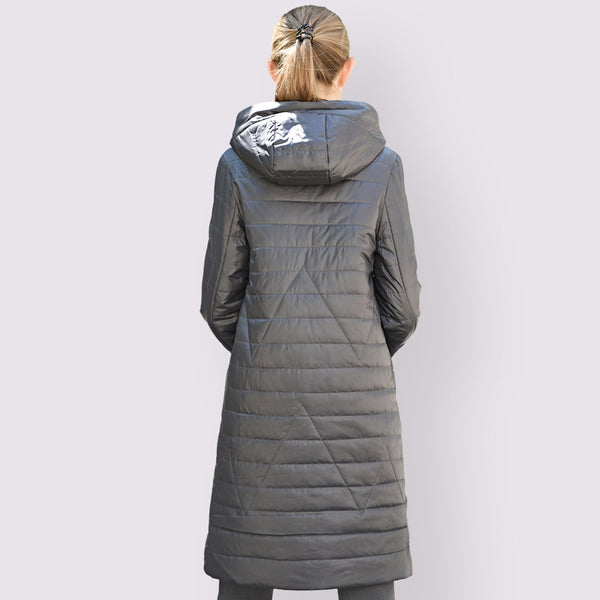 Plus Size 6XL Winter  Hooded Outwear