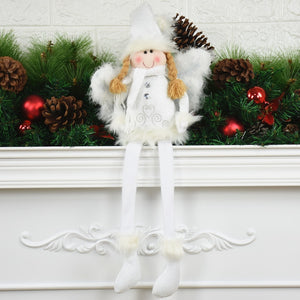 White Beauty Doll Christmas Decorations