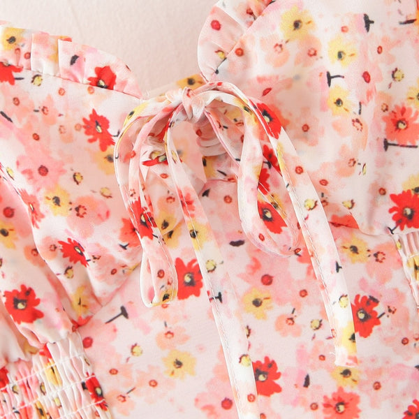 Pink Chiffon Summer Sleeveless Tops S to L