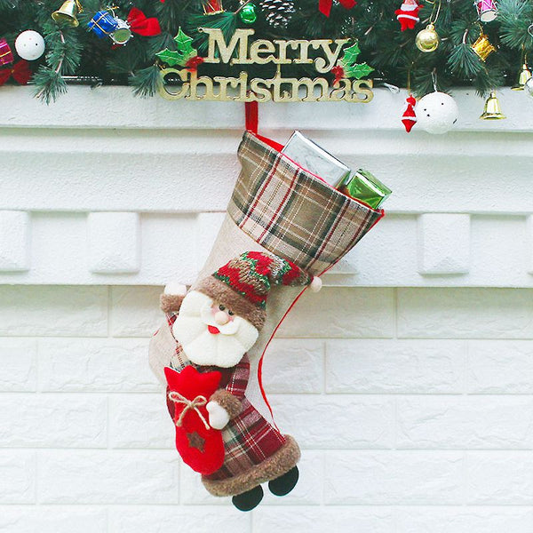 Christmas Stockings 22x25x48cm