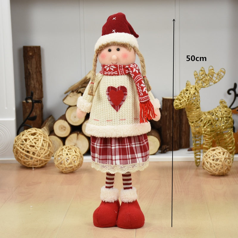 Female Doll Christmas Tree Ornaments