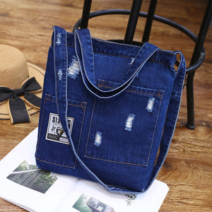 Denim Shoulder Bags  - Zaida Fashions