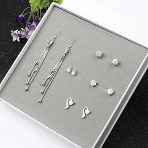 925 sliver earrings jewelry party gifts  - Zaida Fashions