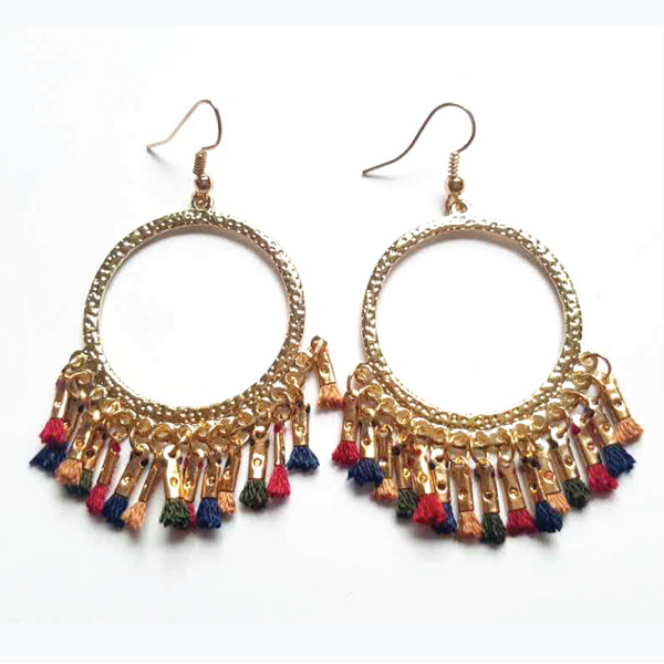 Tassel Drop Earrings  - Zaida Fashions