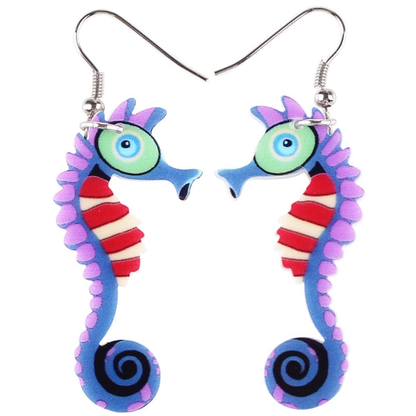 Seahorse Earrings  - Zaida Fashions