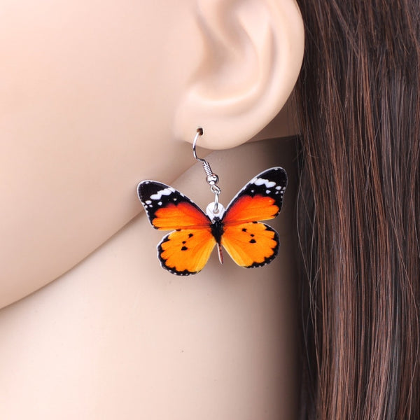 Butterfly Earrings  - Zaida Fashions