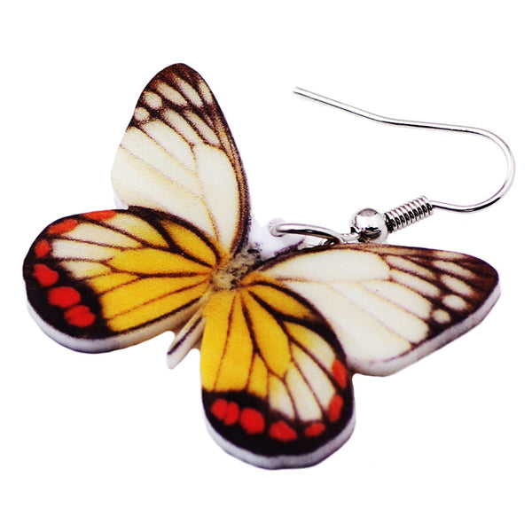 Butterfly Dangle Earrings For Women  - Zaida Fashions