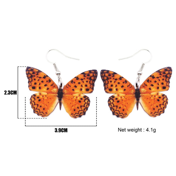 Lightweight Butterfly Earrings  - Zaida Fashions