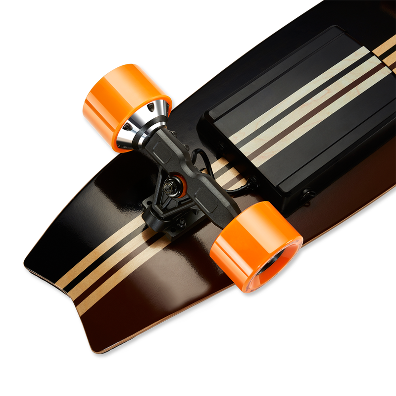 Meepo Campus 2 - Close Up Of Electric Skateboard Shortboard Kicktail