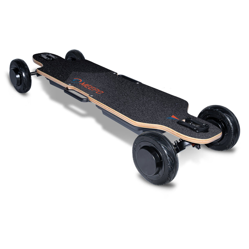 Meepo Electric Skateboard Big Wheeled Commuter Board - City Rider Top Side Deck View