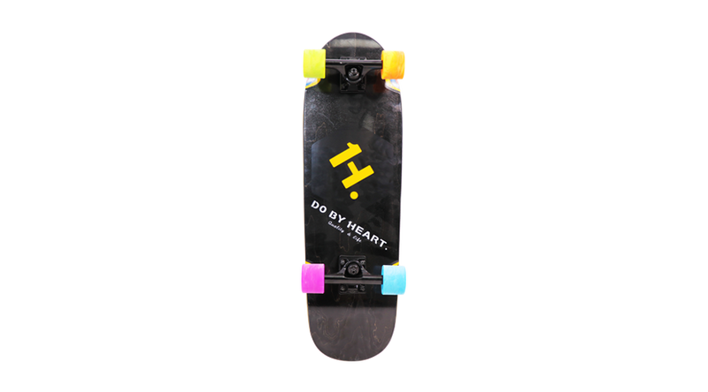 None power Skateboard Black | H. DO BY HEART. Quality &Life