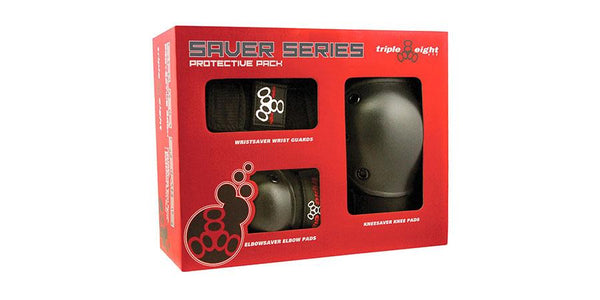 Triple Eight Protective Gear - Saver Series 3-pack Box (US only)