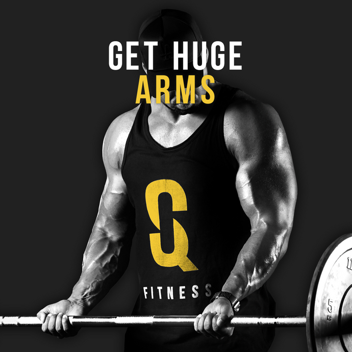 SQ FITNESS E-BOOK: GET HUGE ARMS
