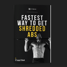 SQ FITNESS E-Book: GET SHREDDED ABS