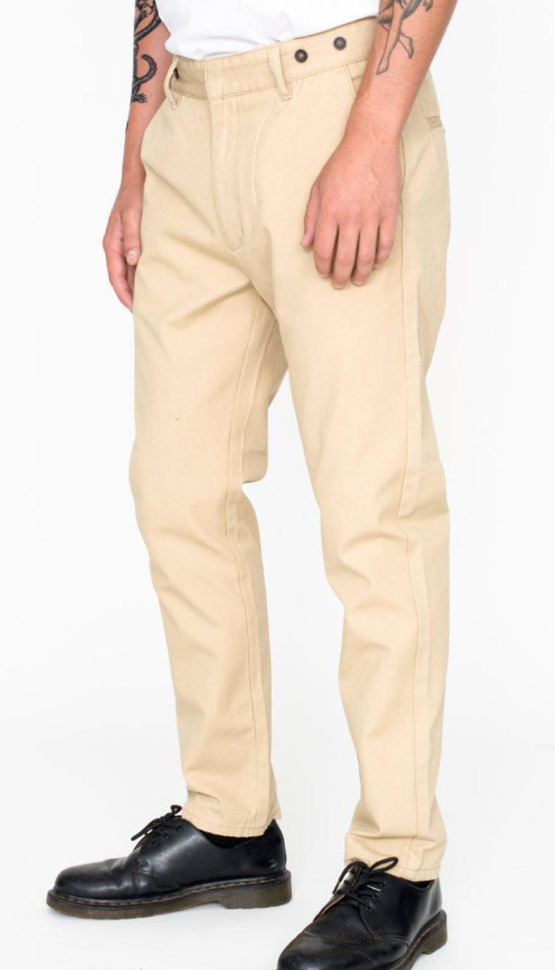 BOARDWALK PANT - TAN CANVAS