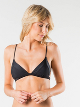 CRUISE 2 FIXED TRIANGLE BIKINI TOP - BLK