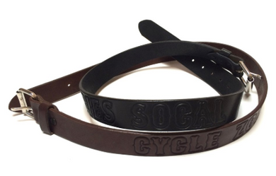 'GOTH' LEATHER BELT