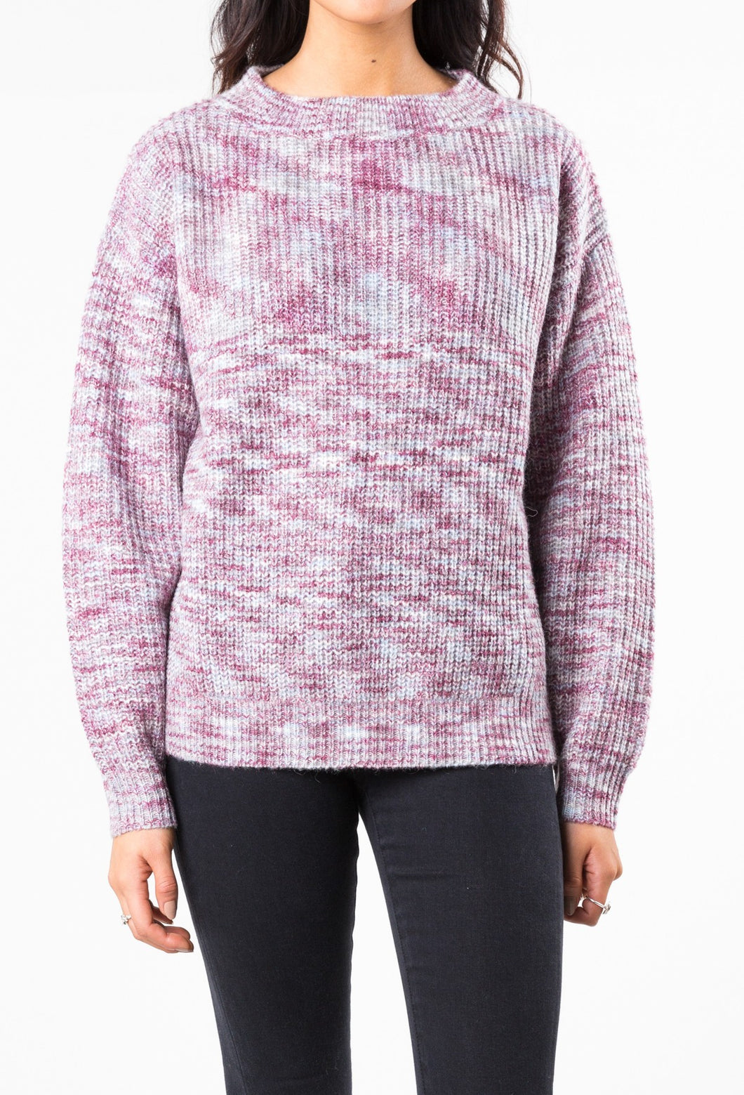 MASH CREW NECK KNIT - MULTI