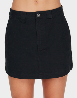 STAPLER SKIRT - BLK