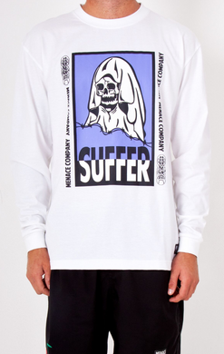 SUFFER LS SHIRT - WHT