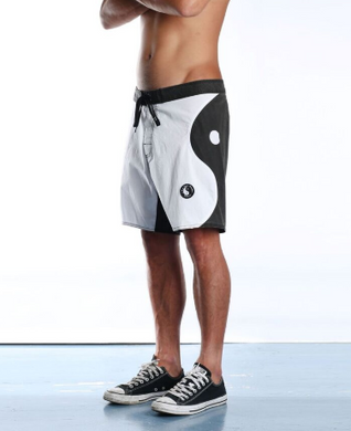 YING YANG TRUNK - BLK/WHT