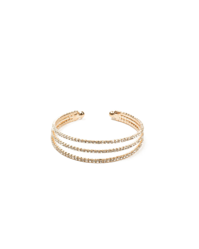 Diamante Chain Cuff Wristwear