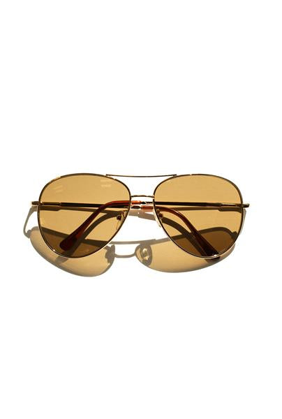 Gold Chloe Sunglasses