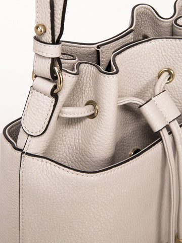 Bella Leather Drawstring