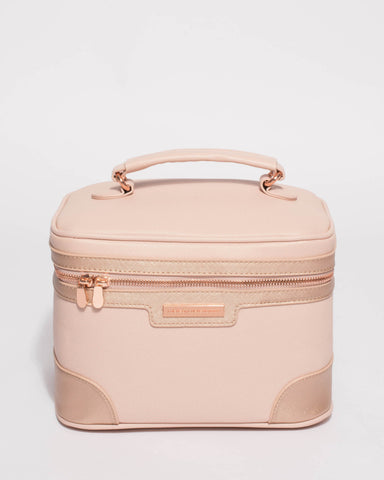 Pink Rose Gold Cosmetic Case Pack