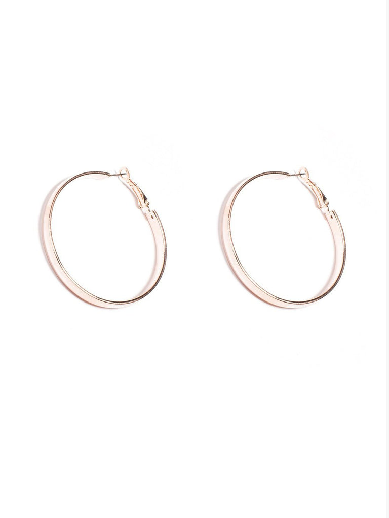 50mm Tube Hoop Earrings