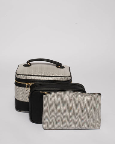 Monochrome Hardware Cosmetic Case Pack