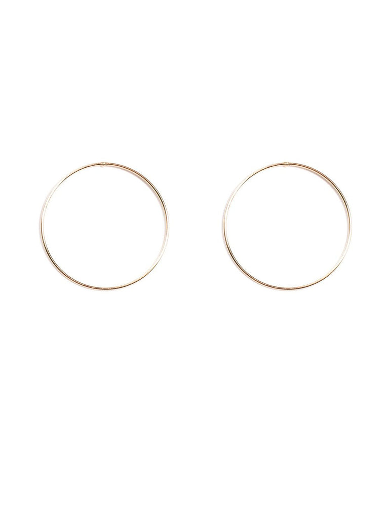 30mm Front Hoop Earrings