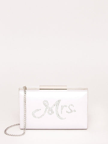 Bridal Mrs Clutch