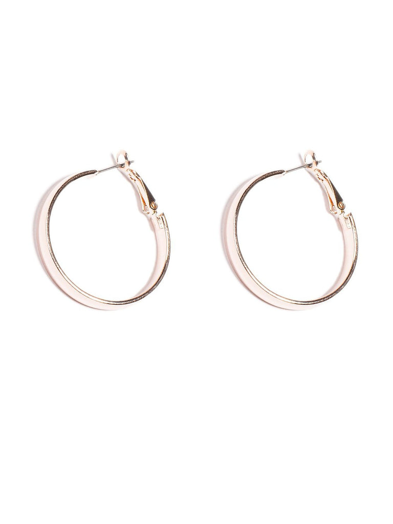 33mm Tube Hoop Earrings