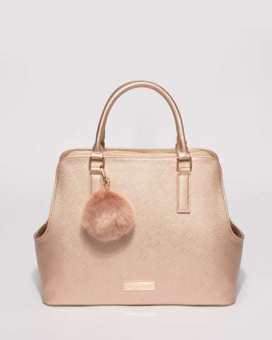 Rose Gold Bonnie Large Tote Bag