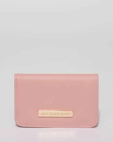 Pink Lulu Purse With Gold Hardware