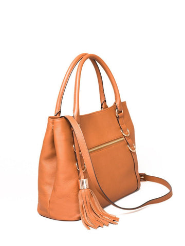 Reese Leather Slouch